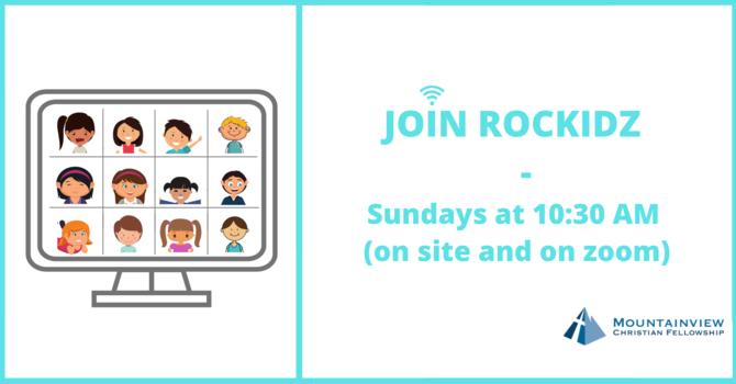 ROCKidz - Children Ministry