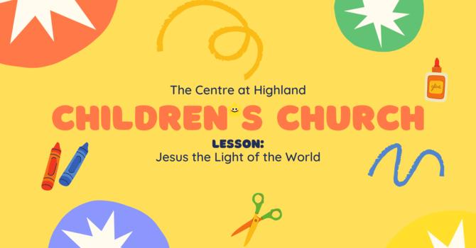 Jesus: the Light of the World