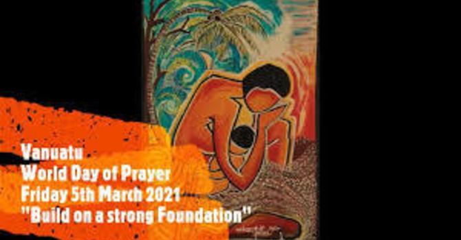 World Day of Prayer - March 5th, 2021