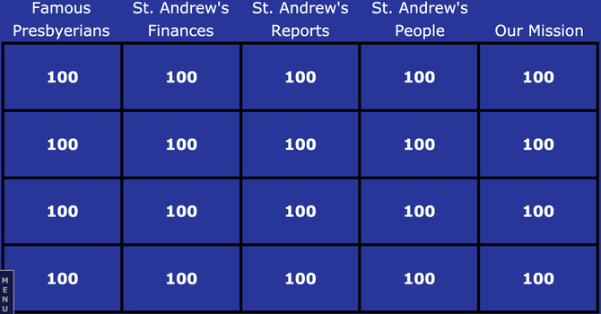 St. Andrew's 'Jeopardy' image