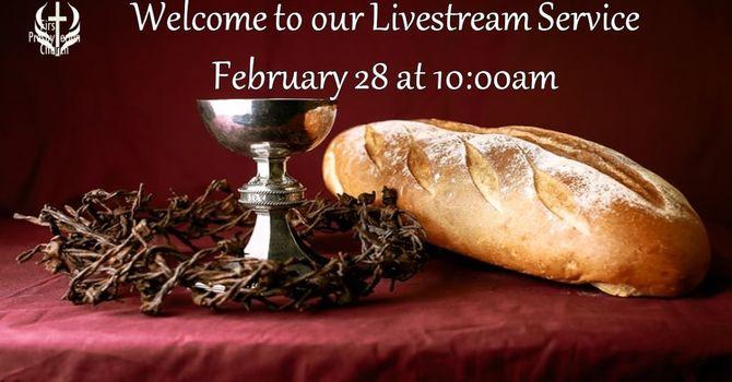 Sunday February 28 Livestream Service