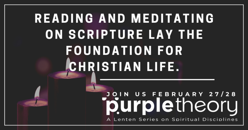 Purple Theory | Scripture