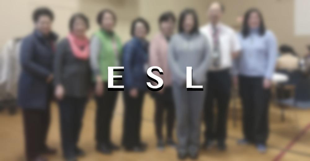 ESL Spring 2021 Term 春季英文班