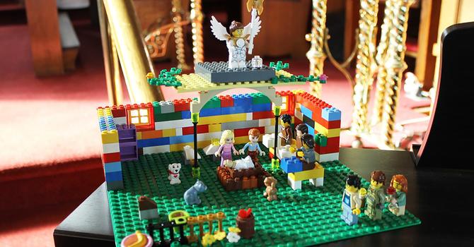 Nativity scene in Lucan image