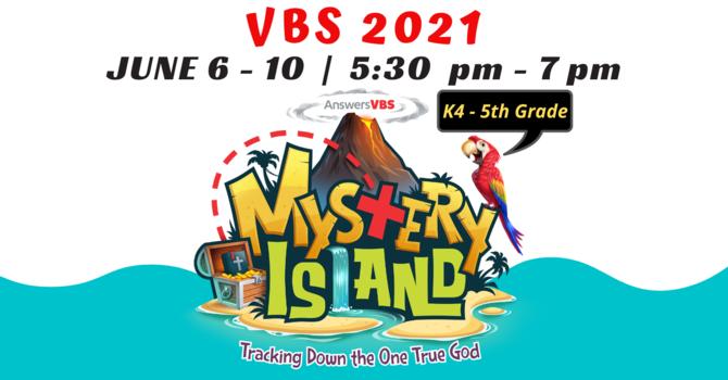 """VBS 2021 """"Mystery Island"""""""