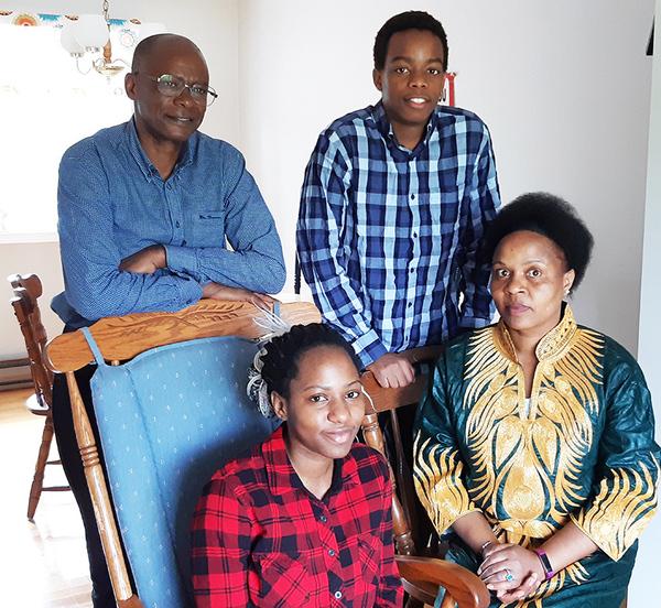 Permanent residency for Twinamatsiko family