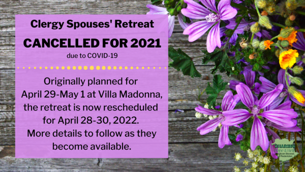News for clergy spouses