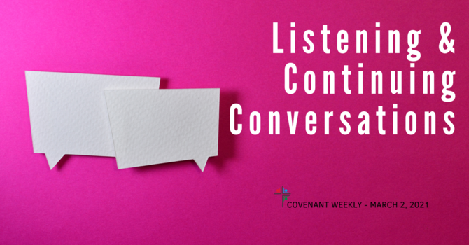 Listening and Continuing Conversations image