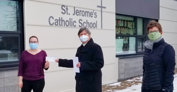 St. Saviour's Supports Vermilion School Lunch Programs
