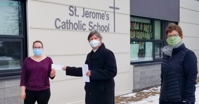 St. Saviour's Supports Vermilion School Lunch Programs image