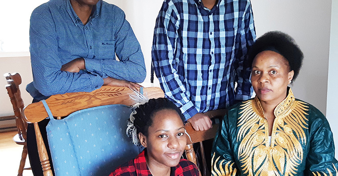 Permanent residency for Twinamatsiko family image