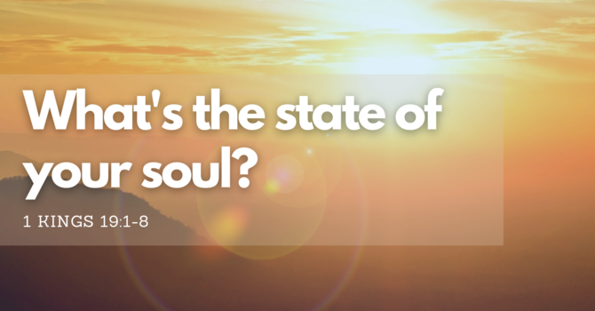 What's the state of your soul?