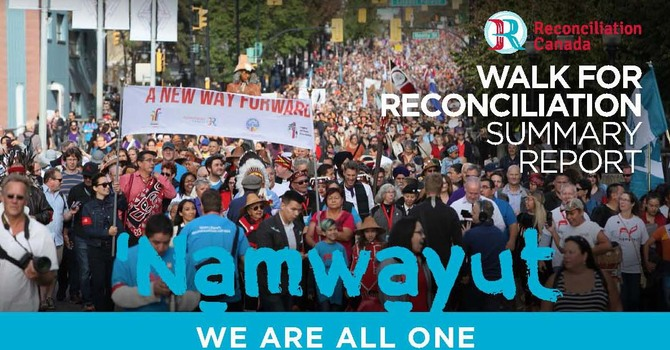 Summary Report from Reconciliation Canada - Sept 24 Walk image