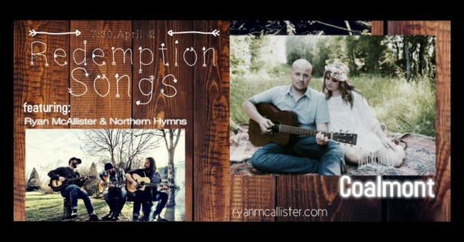 Ryan McAllister & The Northern Hymns with special guests Coalmont! image