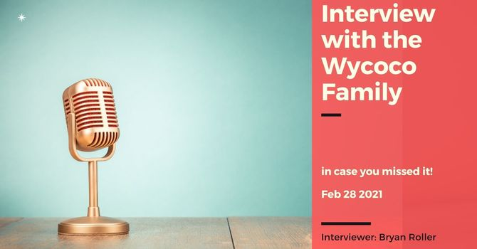 Interview with the Wycoco Family image