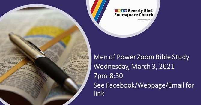 Men of Power TONIGHT! image