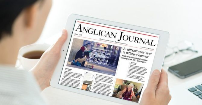 Anglican Journal - March 2021 edition