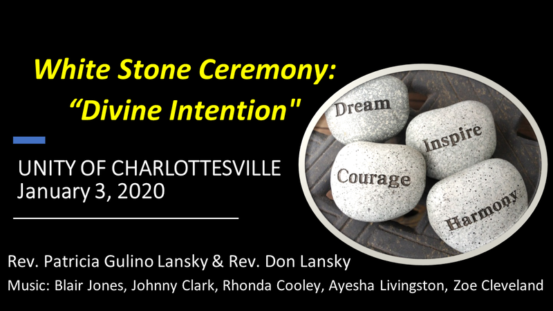 White Stone Ceremony