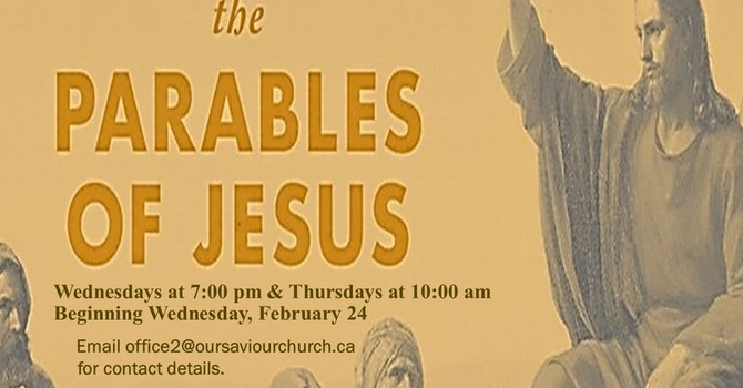 Parables of Jesus Bible Study