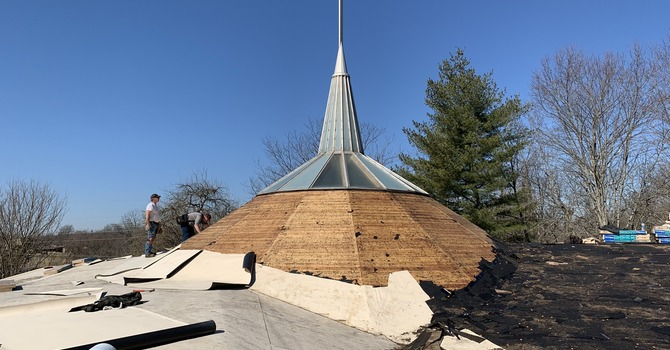 New Roof For The Church image