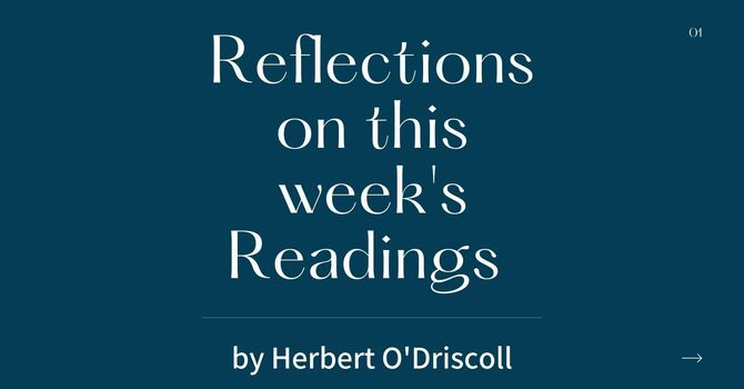 Reflections by Herbert O'Driscoll (2nd Sunday of Easter) image