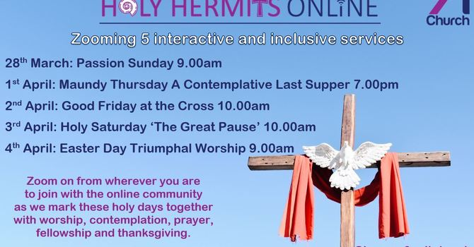 Holy Week at Home with Holy Hermits