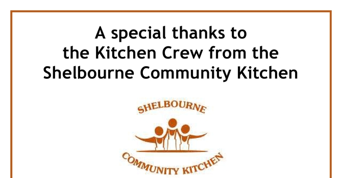 Thank you to the Shelbourne Community Kitchen image