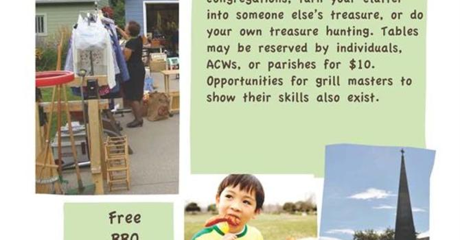 BBQ and Sale at St. Matthias and St. Luke image