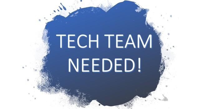 Worship Tech Team Needed! image
