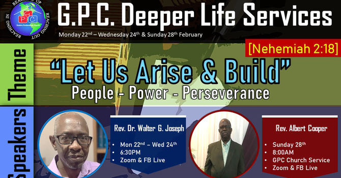 Deeper Life Service - Day 1