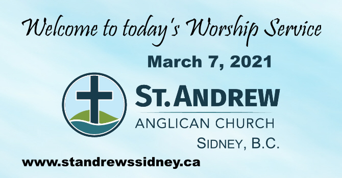 March 7, 2021 On-Line Sunday Service image