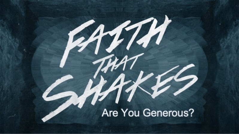 Are You Generous?