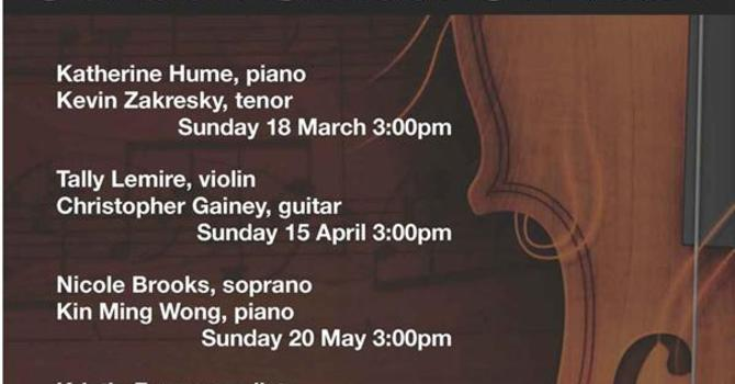 St. Alban's Spring Concert Series   image