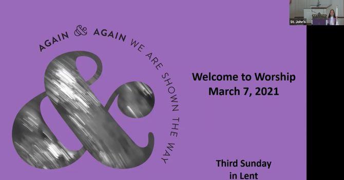 March 7, 2021 Sunday Worship