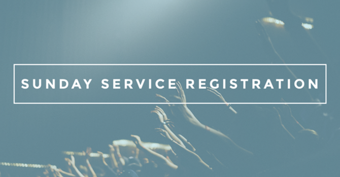 Sunday Service Registration image