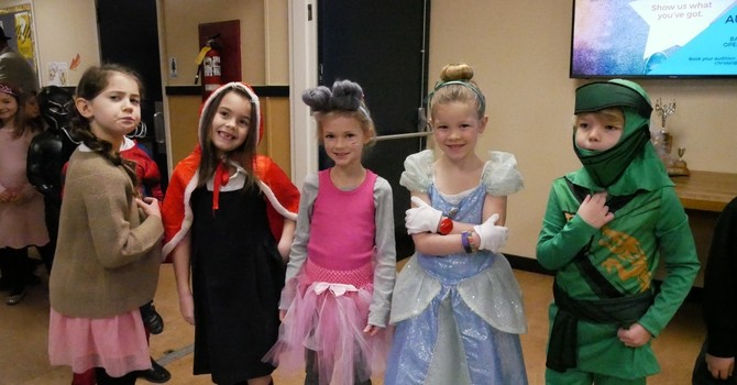 Literary Character Dress-up was a hit! image