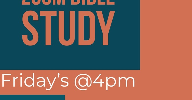 Youth ZOOM Bible Study