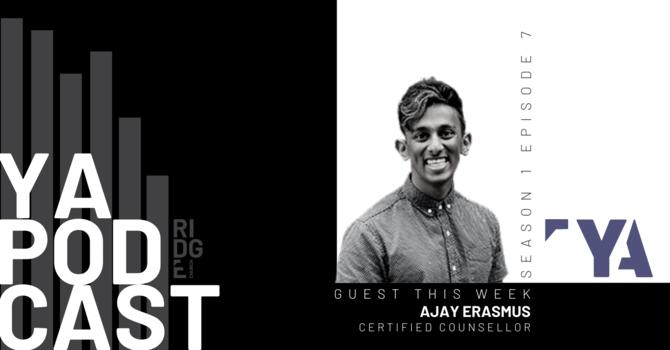 YA Podcast   Guest: Ajay Erasmus