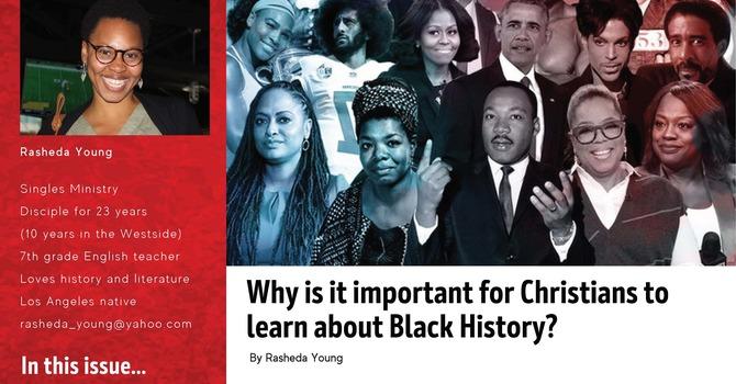 Black History Month Newsletter image