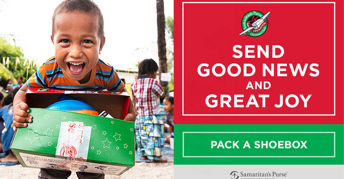 Operation Christmas Child is back for another year! image