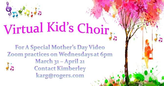 Virtual Kids Choir image