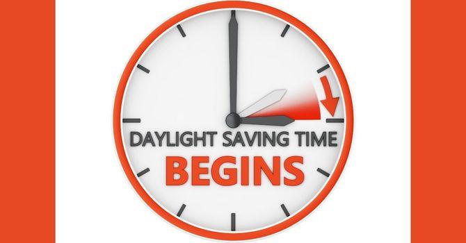 Daylight Savings Time Begins  image