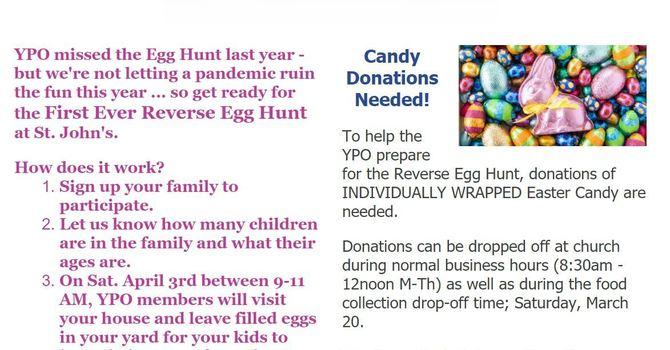 Reverse Easter Egg Hunt! image