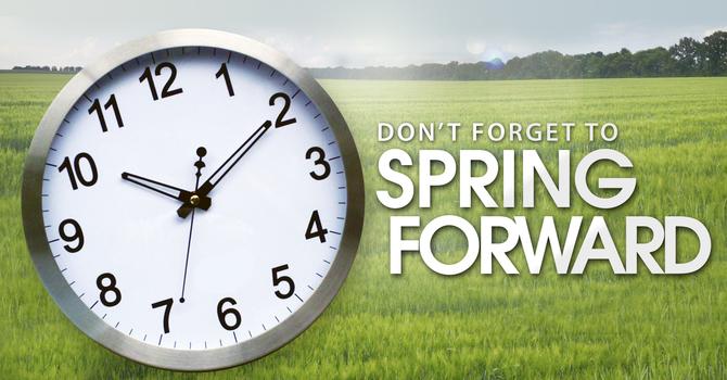 March 14, 2021 Daylight Saving Time Starts image