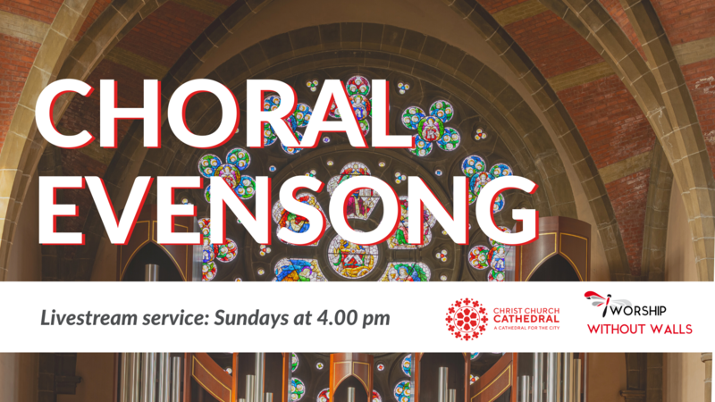 Choral Evensong, March 7, 2021 (Third Sunday of Lent)
