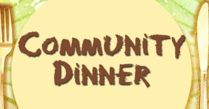 Thank you to sponsors of our Community Dinner Program