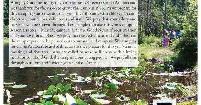 Camp Artaban Sunday, March 25th image