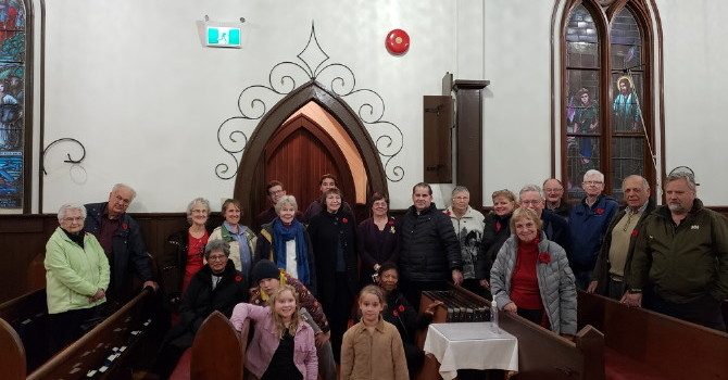 St. Luke's Takes Part in the Bells for Peace image