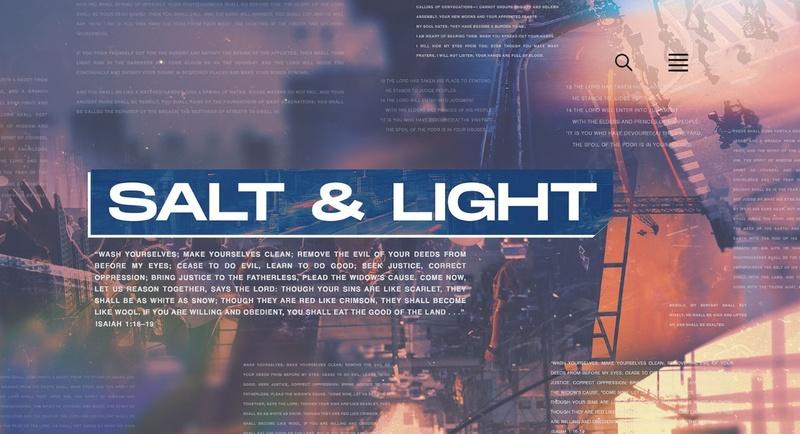 Salt and Light Week 1