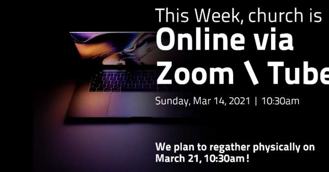 Virtual Meeting on March 14, 2021, 10:30am image